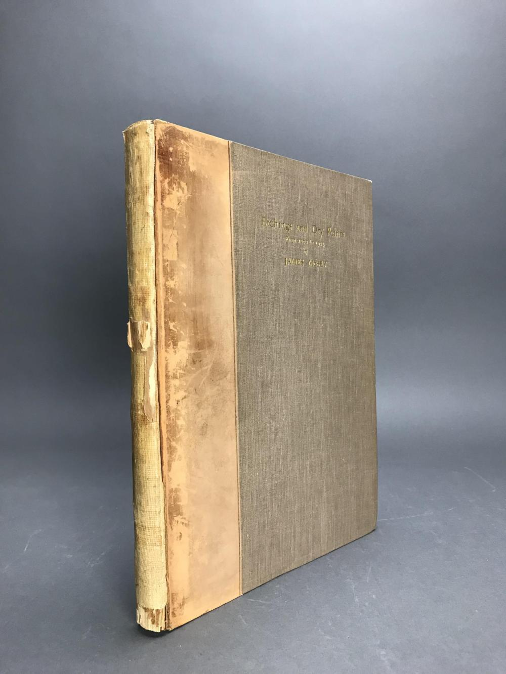 Lot 463: James McBey Catalogue Raisonne. 1925.