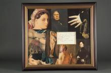 Lot 78: Jean Ingres. Autograph Note Signed. 1838.