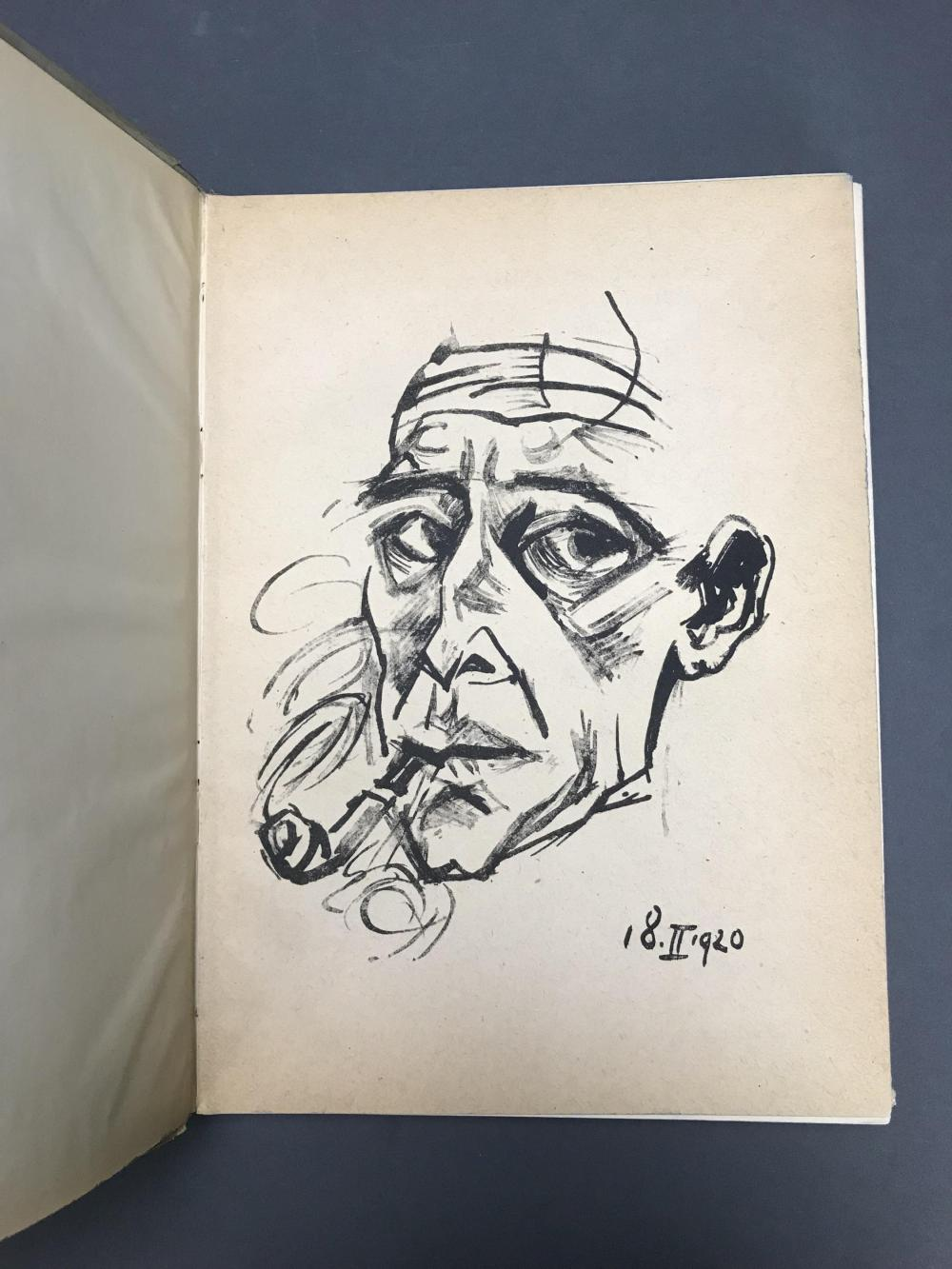 Lot 461: Max Pechstein. Catalogue Raisonne. W/ orig litho.