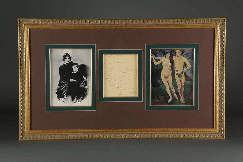 M. Utrillo, S. Valadon, A. Vitter. ALS.