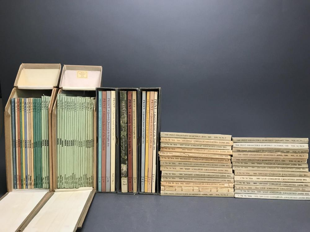 Lot 468: 100+ vols. Print Journals/Reference
