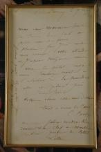 Lot 46: Camille Corot. Autograph Letter Signed. 1861.