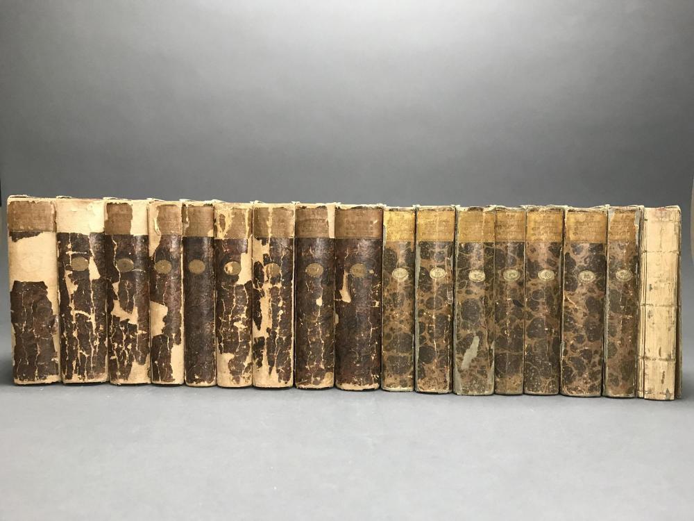 Lot 453: Bartsch. Le Peintre Graveur. 17 vols of 21. 1802.