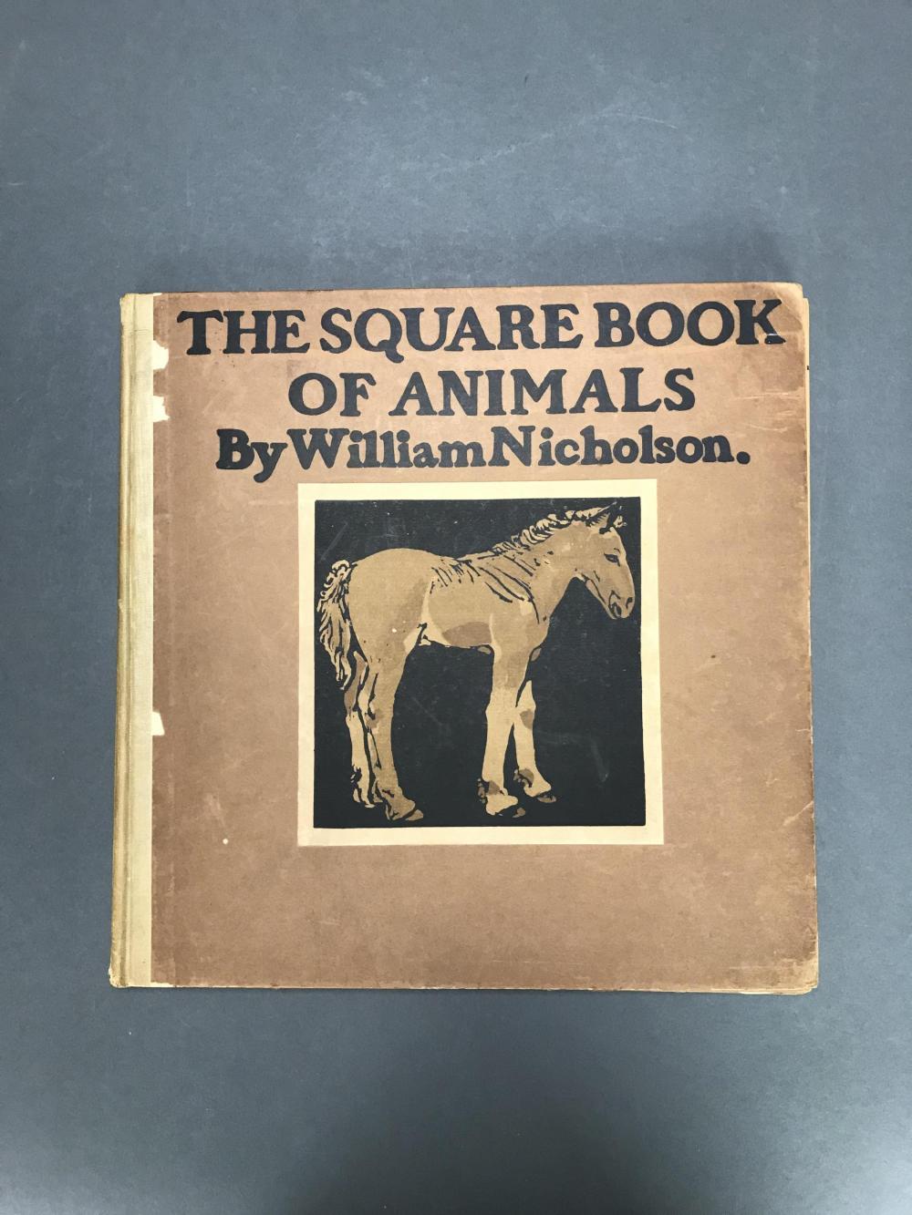 Lot 250: Nicholson. The Square Book of Animals. 1900.