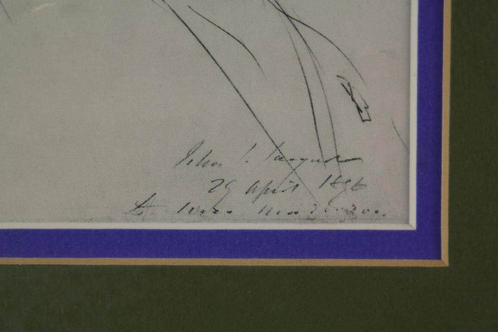 Lot 67: Gabriel-Urbain Fauré. Autograph Letter Signed.
