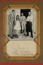 Lot 51: Pickford, DeMille, Lasky, Hart. Photograph Sgd.