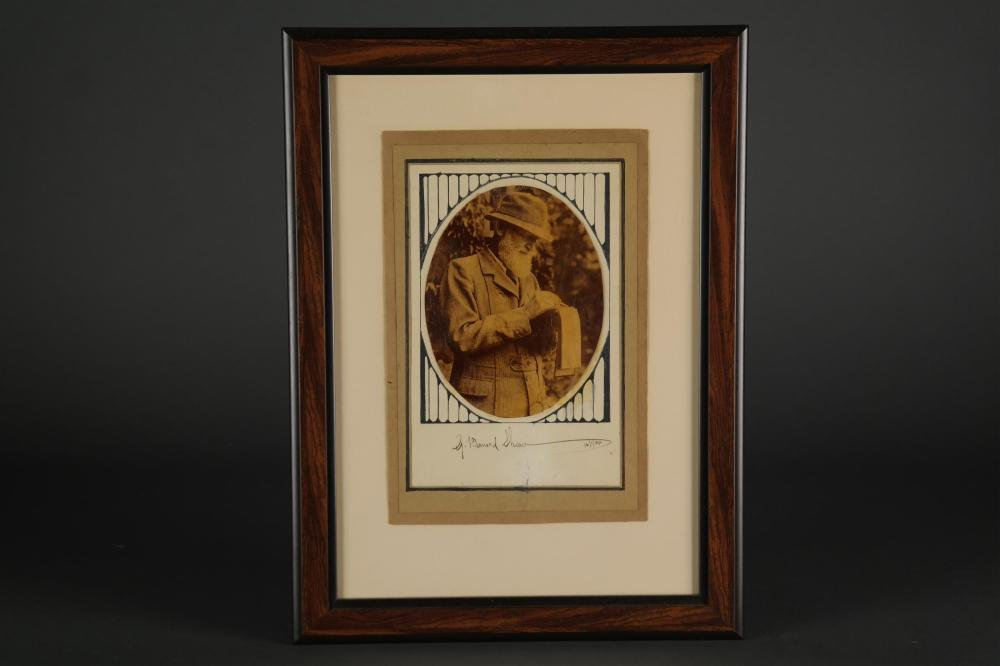 3 Signed Pieces. M. Arnold, R. Kipling, G.B Shaw.