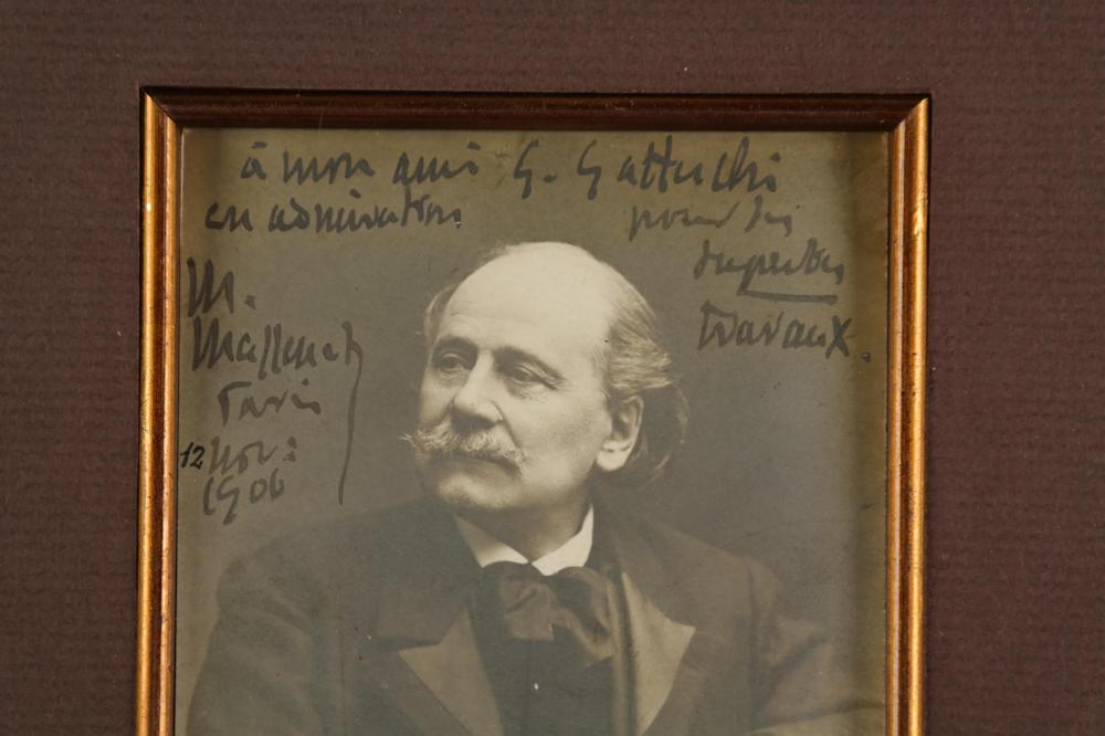 Lot 90: Jules Massenet. Photograph Signed.