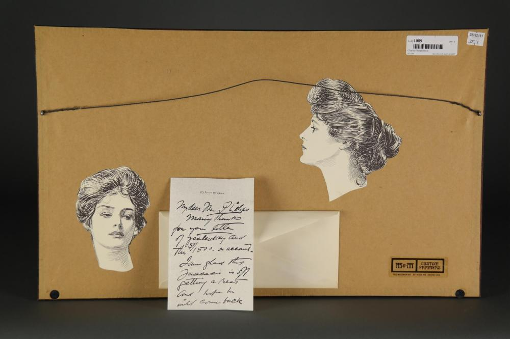 Lot 70: Charles Dana Gibson. Autograph Letter Signed.