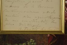 Lot 61: Henri Fantin Latour. Autograph Letter Signed. 1885