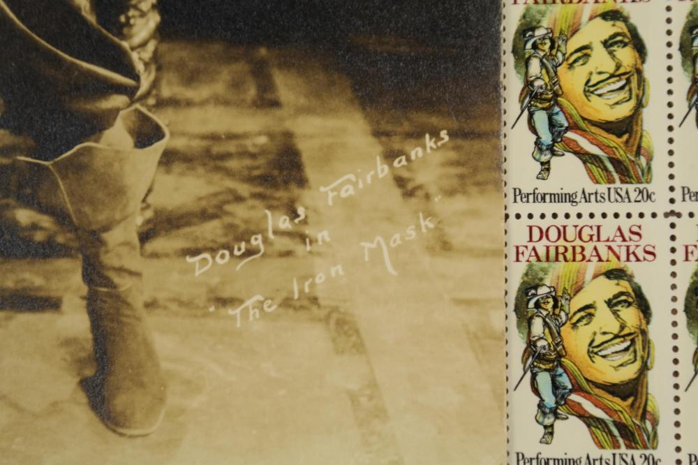 Lot 60: Douglas Fairbanks. Photograph Signed. 1929.