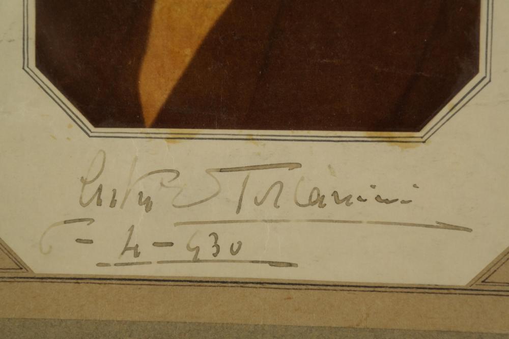 Lot 126: Arturo Toscanini. Signature.