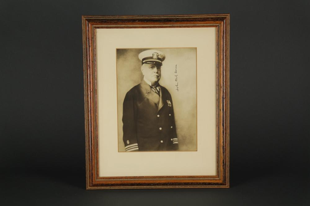 John Philip Sousa. Signed Photograph.