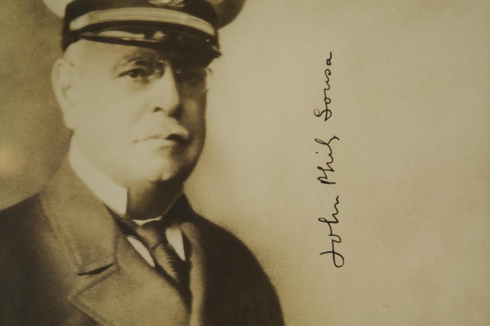 Lot 118: John Philip Sousa. Signed Photograph.