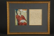 Lot 17: Vanessa Bell. Autograph Letter Signed.