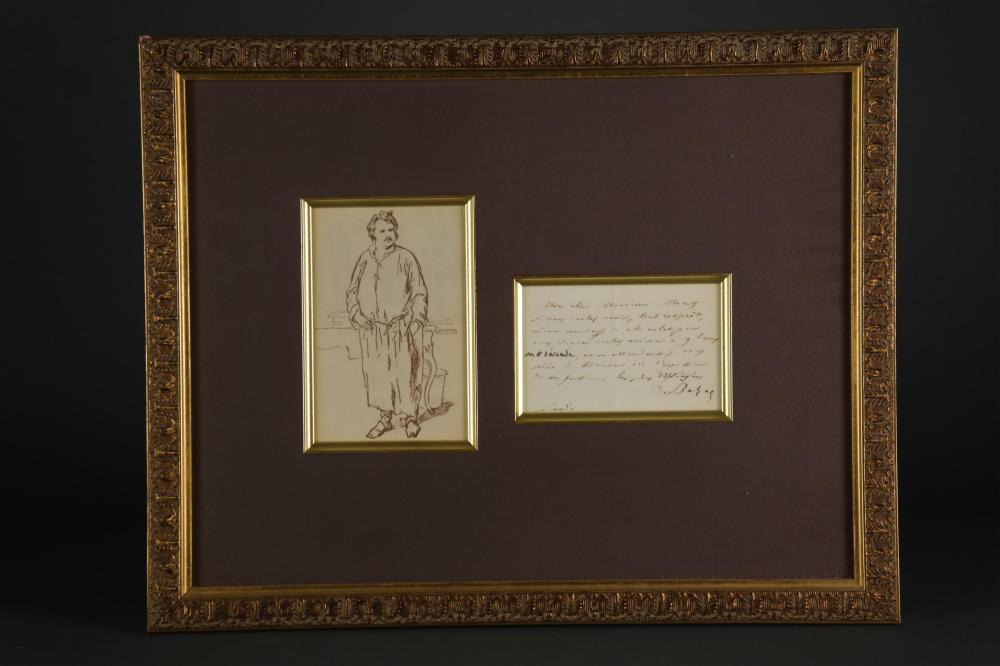 Honore de Balzac. Autograph Letter Signed.