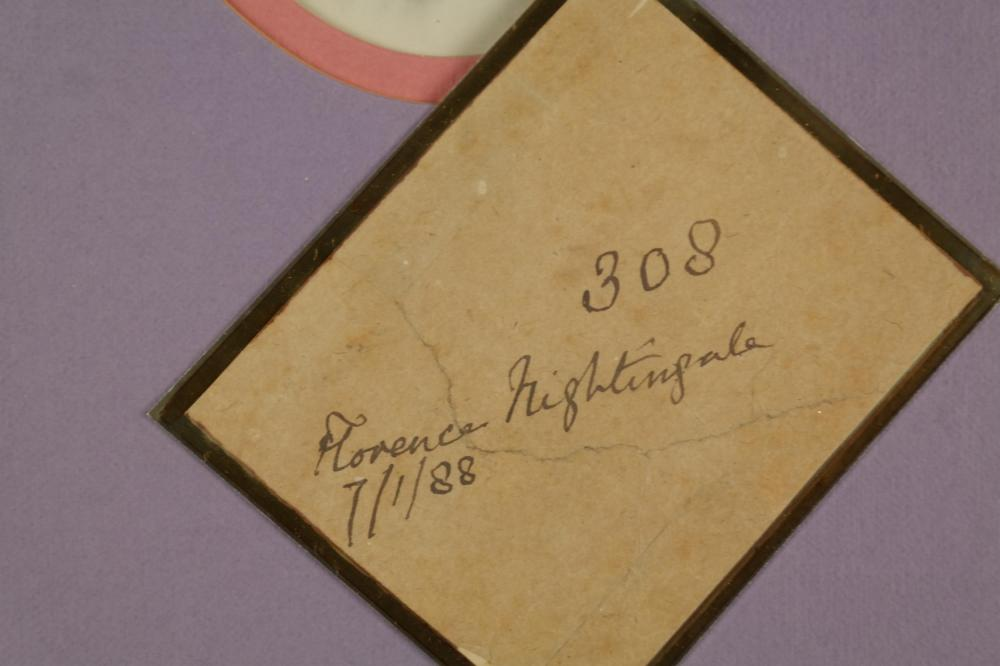 Lot 99: Florence Nightingale. Signed Paper. 1888.