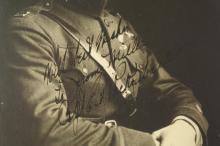 Lot 107: Edward Rickenbacker. Vintage Photograph Signed.