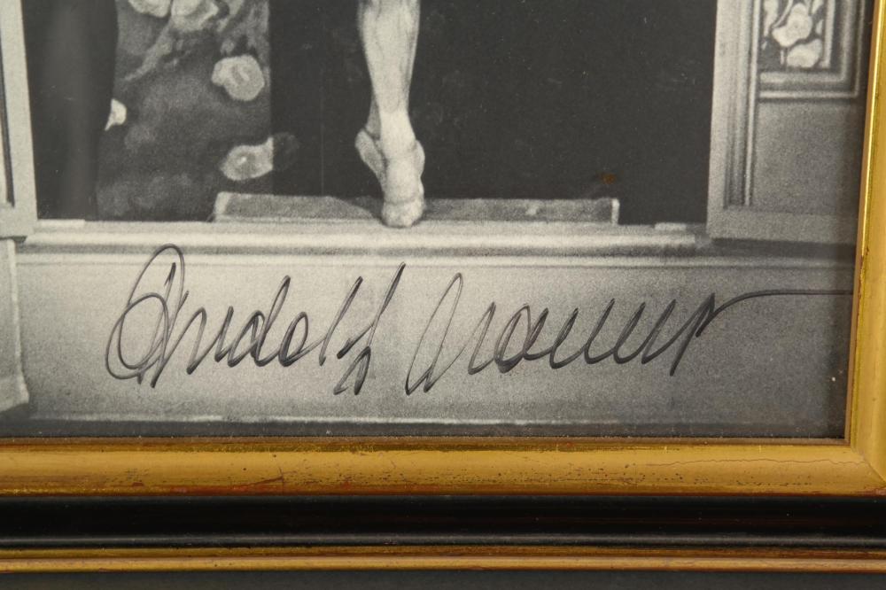 Lot 102: Rudolph Nureyev. Photograph Signed.