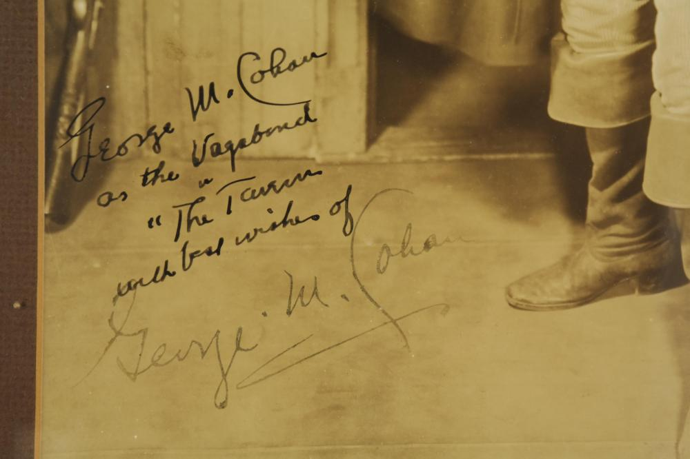 Lot 41: George Cohan. Photograph Signed.