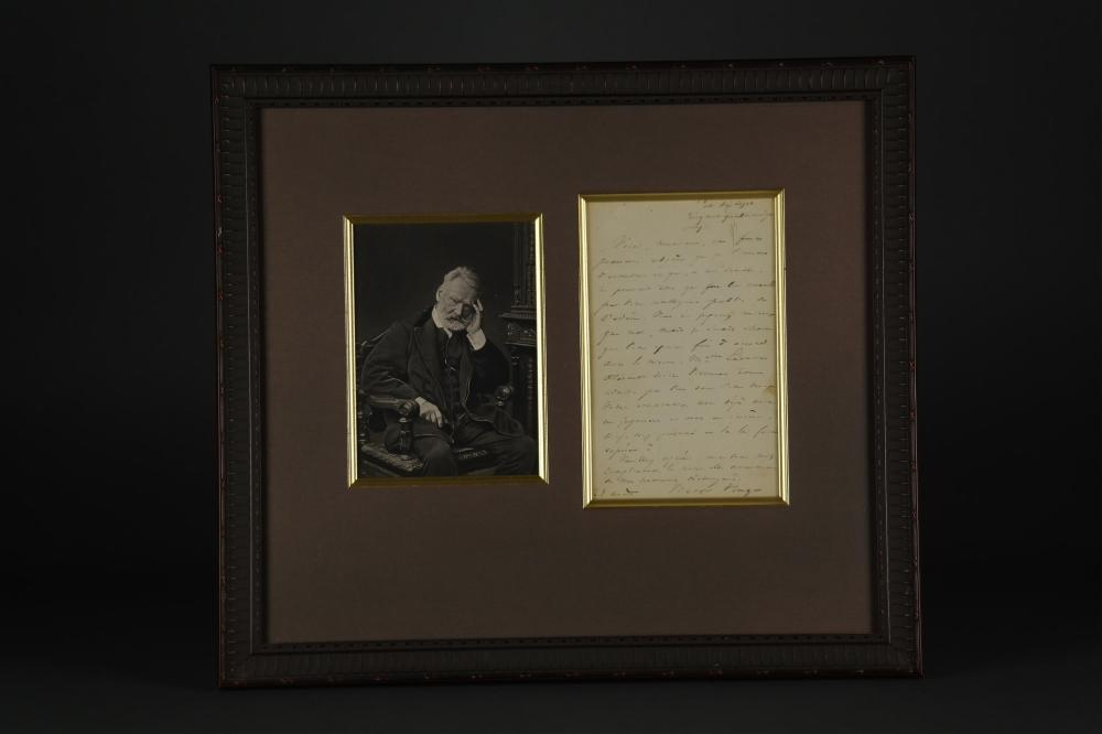 Lot 77: Victor Hugo. Autograph Letter Signed.