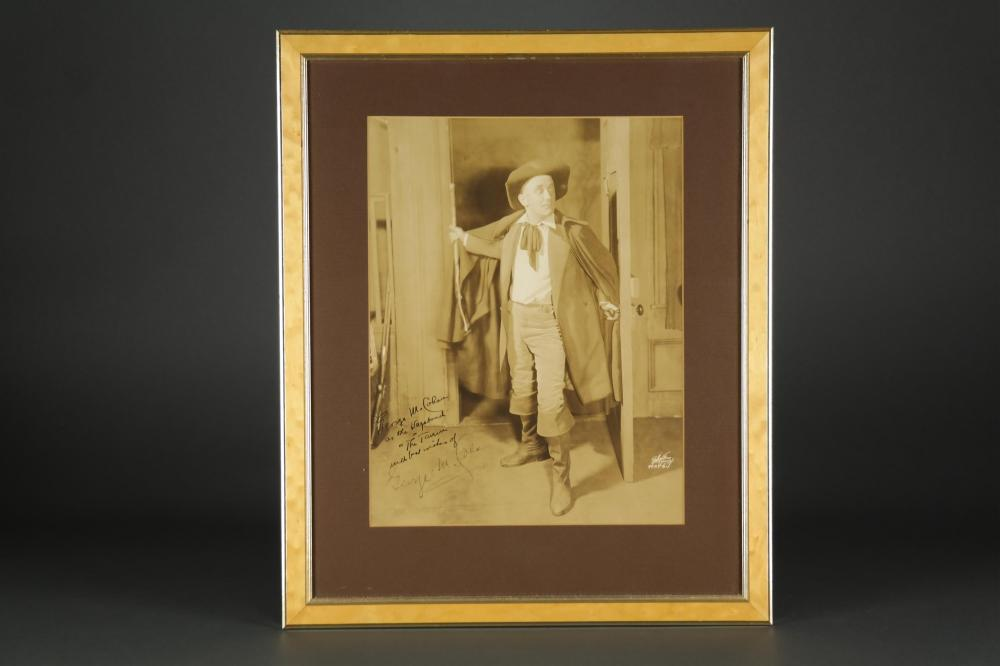 George Cohan. Photograph Signed.
