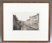 Lot 277: 2 Calli E Canali Photogravure Plates. Framed.