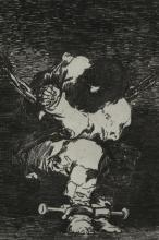 Lot 343: Francisco de Goya. Le Petit Prisonnier. ca. 1810.