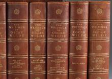 Lot 178: The Writings of Oscar Wilde. 15 vols. 1907.