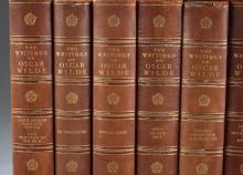 Lot 178: The Writings of Oscar Wilde. 15 vols. 1907.