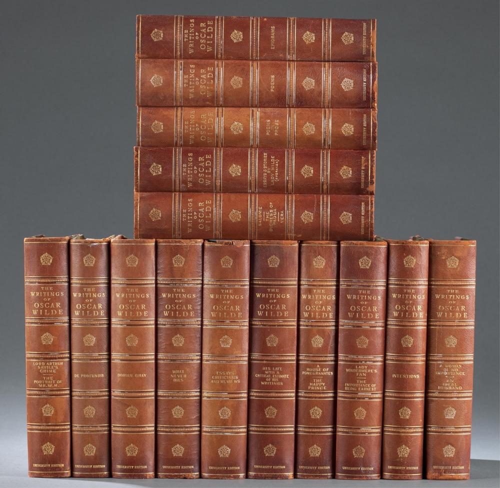 The Writings of Oscar Wilde. 15 vols. 1907.