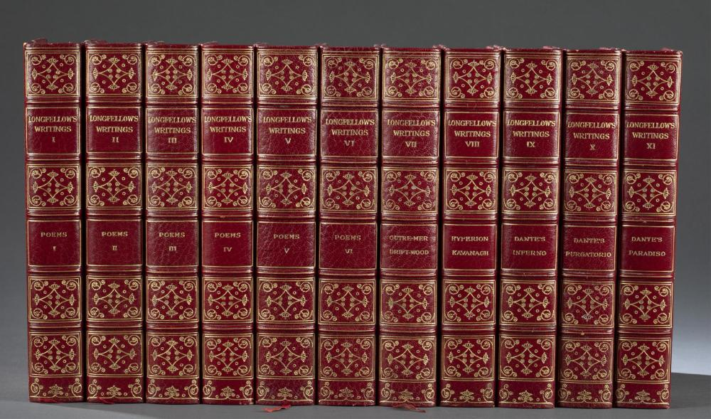 Longfellow. The Complete Works. 11 vols. 1904.