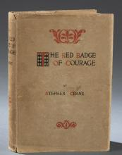 Lot 185: The Red Badge of Courage. 1896. In Dust jacket.