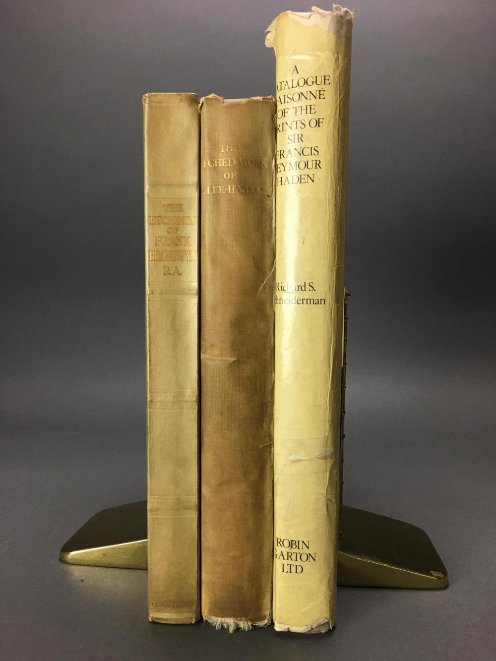 Lot 403: 3 vols. British Printmakers. Catalogue Raisonnes.