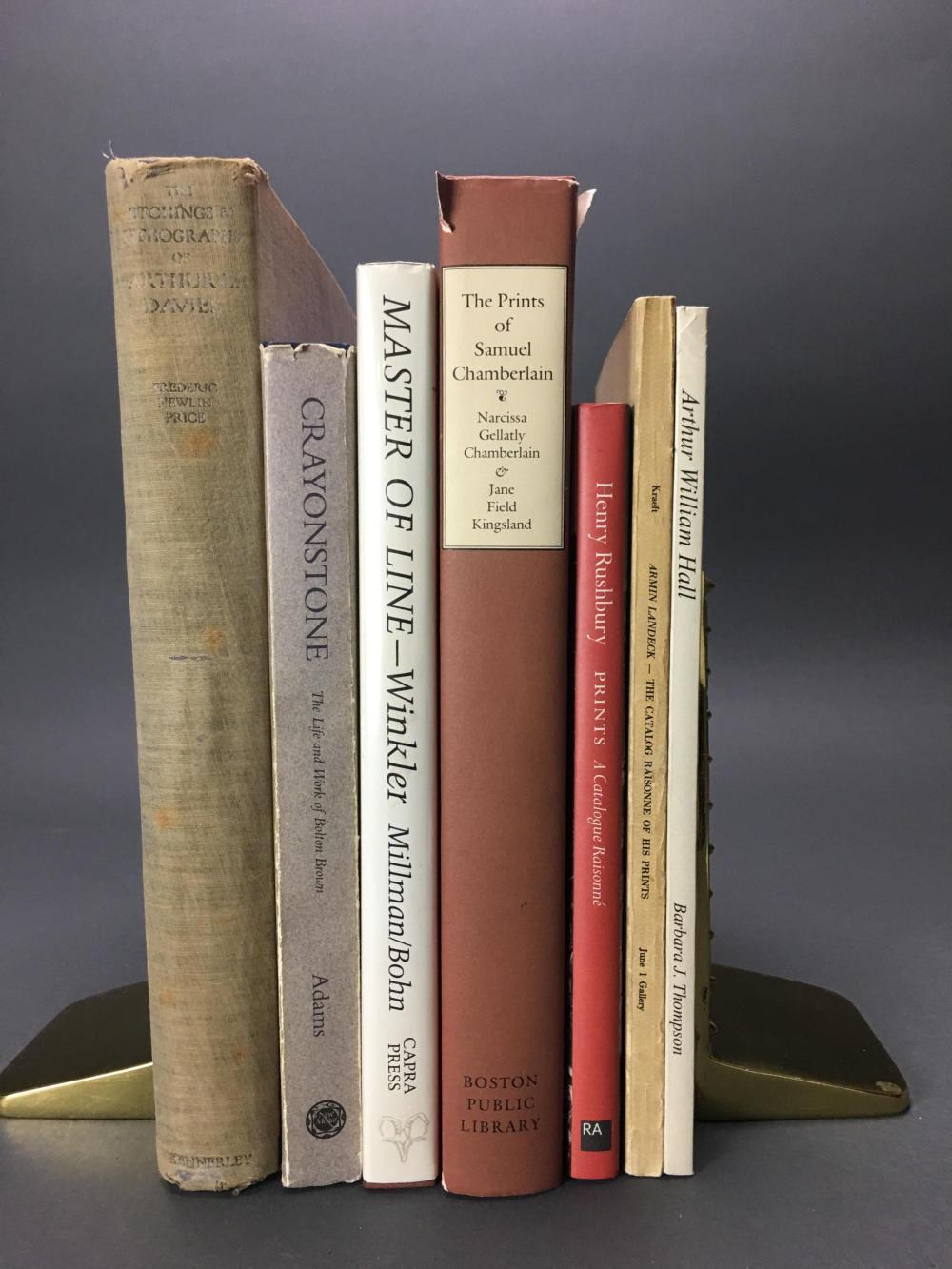 Lot 436: 7 vols. American Printmakers.