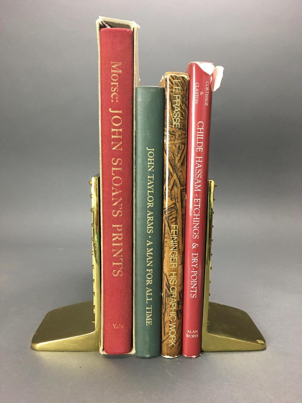 Lot 409: 4 vols. American Printmakers. Catalogue Raisonnes.