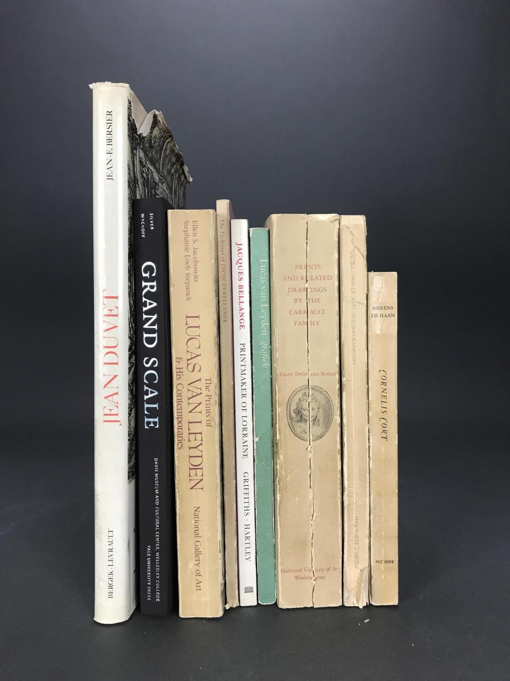 Lot 452: 9 vols. Old Masters. Catalogue Raisonnes.