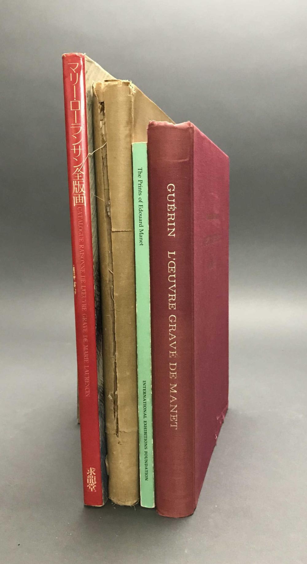 Lot 413: 4 vols. French Printmakers Catalogue Raisonnes.