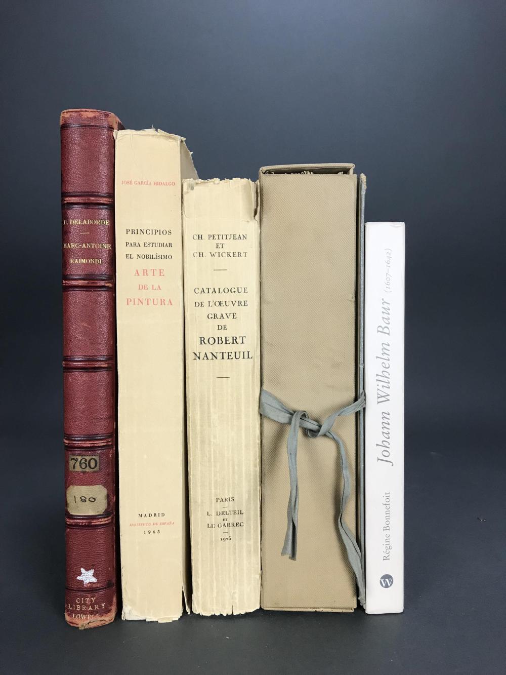 Lot 406: 5 vols. Old Masters. Catalogue Raisonnes.
