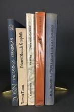 Lot 419: 5 vols. European Printmakers. Incl: Zorn, Klee.