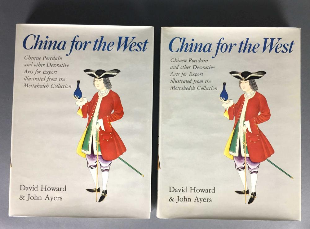 Lot 256: Howard. China for the West. 2 vols. Signed.