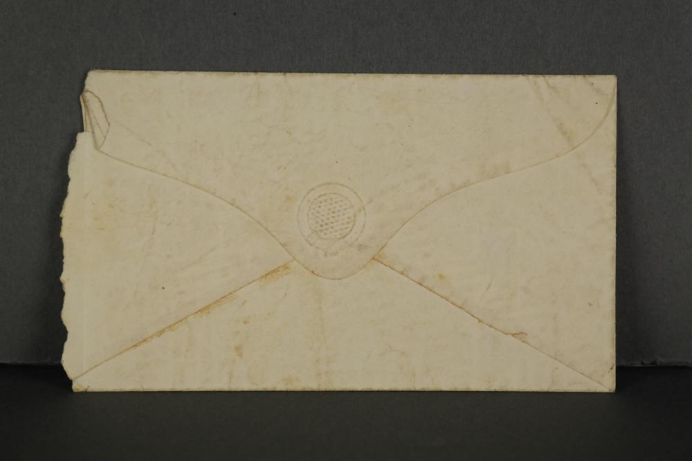 Lot 302: 2 Letters from India Missionaries. 1859-60.