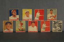 Lot 329: Group of 8 Big League Chewing Gum Cards.