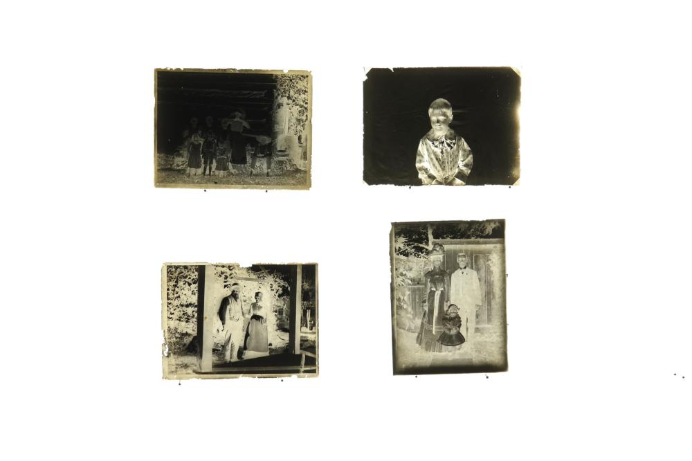 Lot 284: 81 Glass Plate Negatives of portraits & misc...