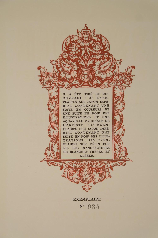 Lot 258: Pushkin. Le Coq D'Or. 1925. #934/955.