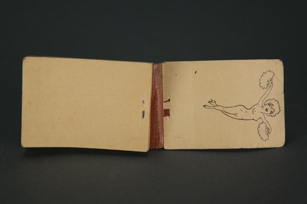 Lot 243: Hotsy Totsy Flipbook. ca. 1920s.