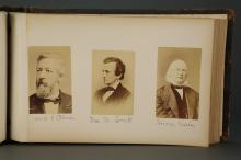 Lot 272: 2 photo albums and group of Studio Photos. 19th c.