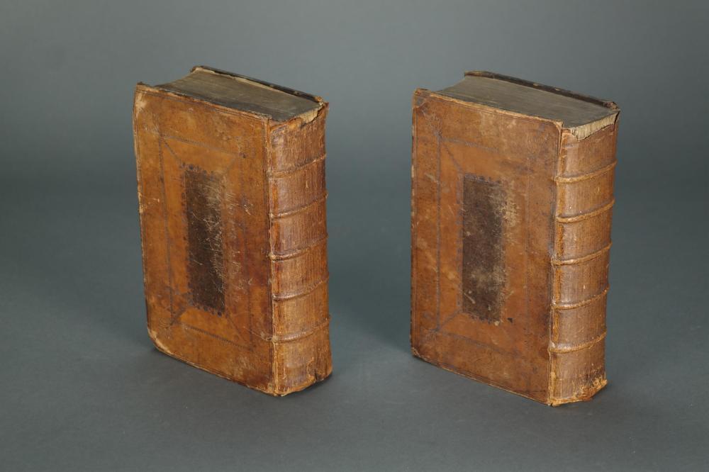 Lot 179: Universal Etymological Dictionary. 2 vols. 1732.