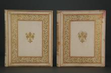 Lot 274: 2 Decorated Photo Albums, 19th c.