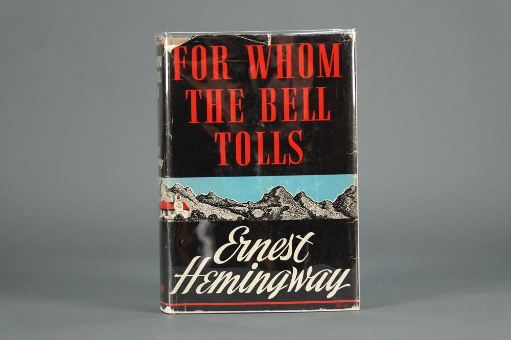 Hemingway. For Whom the Bell Tolls. 1st ed.